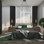 finisaje ansabmlu rezidential de case Green Garden Bucuresti - dormitor